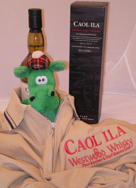 Caol Ila & Westwood Whisky Poloshirt