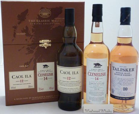 Classic Malts Gift Pack Coastal 0,2 l x 3