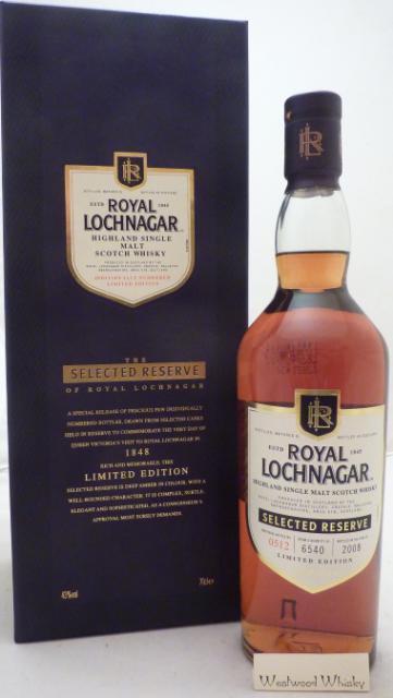 Royal Lochnagar Selected Reserve
