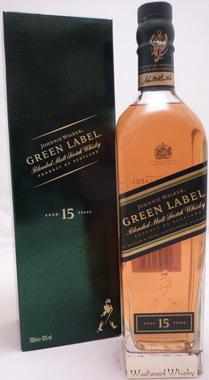 Johnnie Walker 15 Jahre Green Label