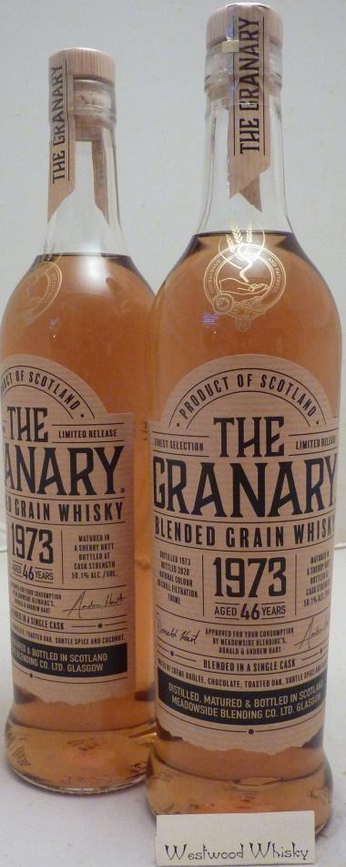 The Granary 46 Jahre Grainman Abfüllung 1973/2020