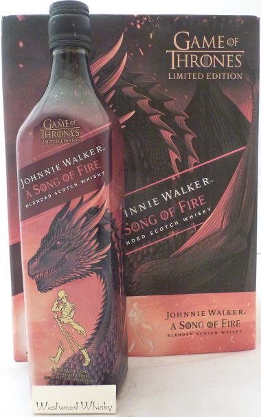 Johnnie Walker A Song of Fire