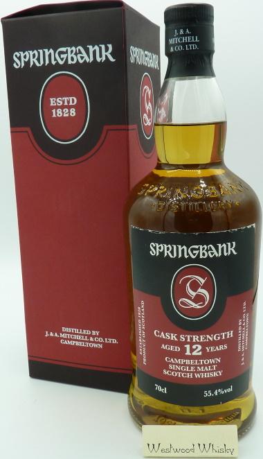 Springbank 12 Jahre Cask Strength