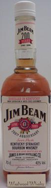 Jim Beam White Label 200 Years
