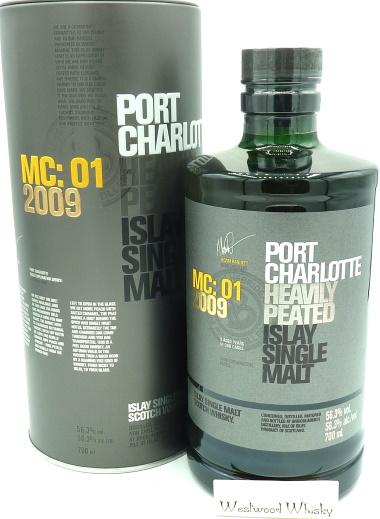 Bruichladdich Port Charlotte 9 Jahre MC: 01 2009 Marsala Casks