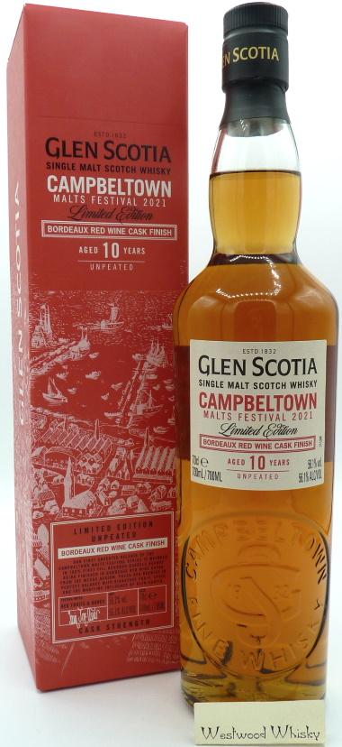Glen Scotia 10 Jahre Campbeltown Malts Festival 2021